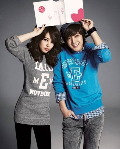 kim hyun jung with yoon eun hye