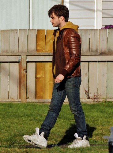 "Daniel Radcliffe on ""Horns"" Set-02/10/2012"