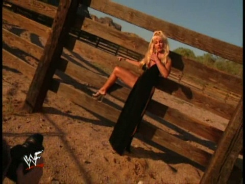 Debra - Behind the scenes Wild, WIld West Raw Magazine Shoot