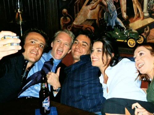 HIMYM Cast back in 2005 (I think)