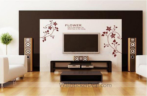 Life Is The Flower For Which Love Is The Honey Wall Stickers