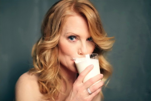 "Photoshoot for ""Got Milk"" Advert"