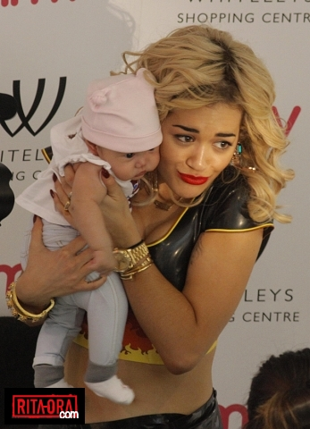 Rita Ora - Signs copies of her album 'Ora' at HMV Bayswater in London - August, 28, 2012