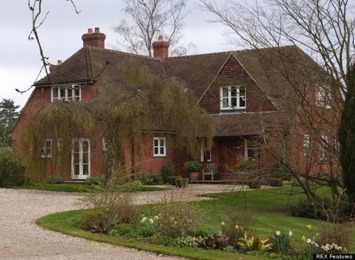 The Middleton's family utama in Bucklebury, Berkshire