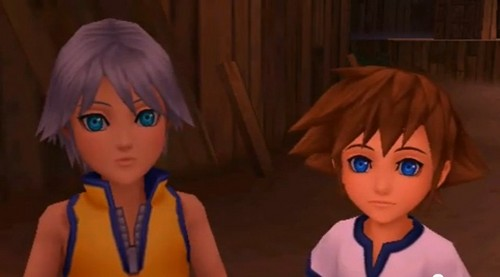 aww little sora and riku