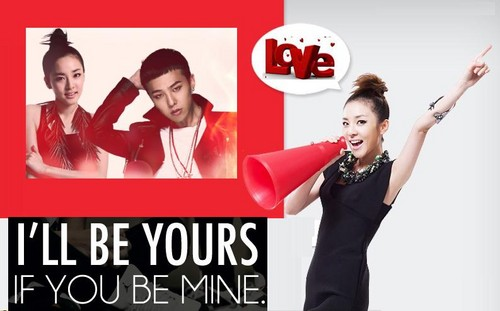 dara 2NE1 i'll be yours gd big bang