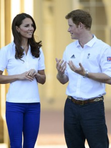 kate middleton and   prince harry