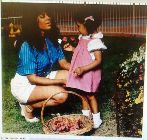 rare hazel gordy with daughter autumn '81