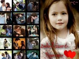 Bella,Edward and Renesmee