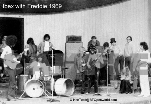 Ibex with Freddie 1969