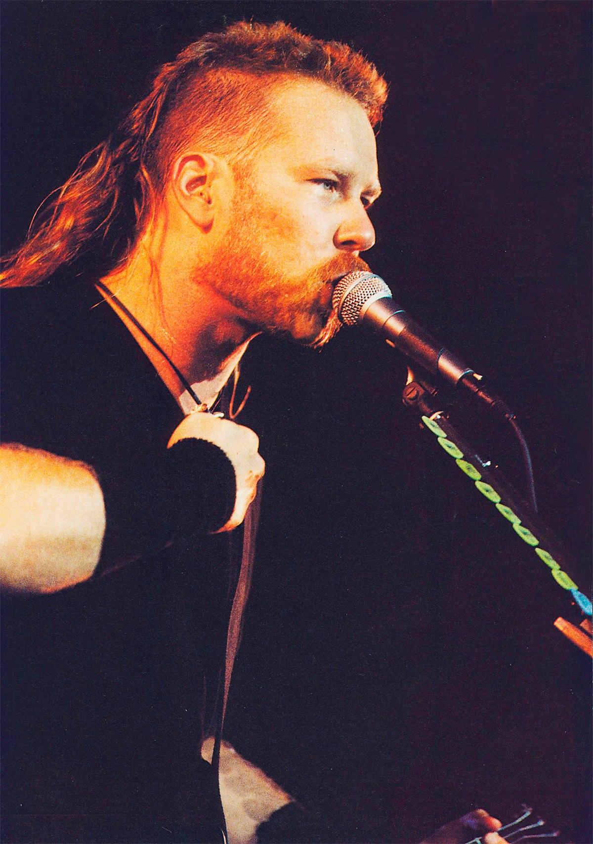 james hetfield 1995 - Кинозавр