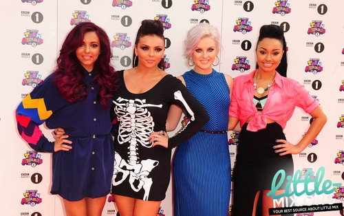 Little Mix attend the BBC Radio 1 Teen Awards - 07/10/12.