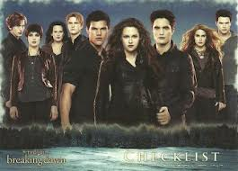 Twilight saga trading cards