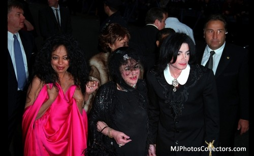 michael and elizabeth and diana ross