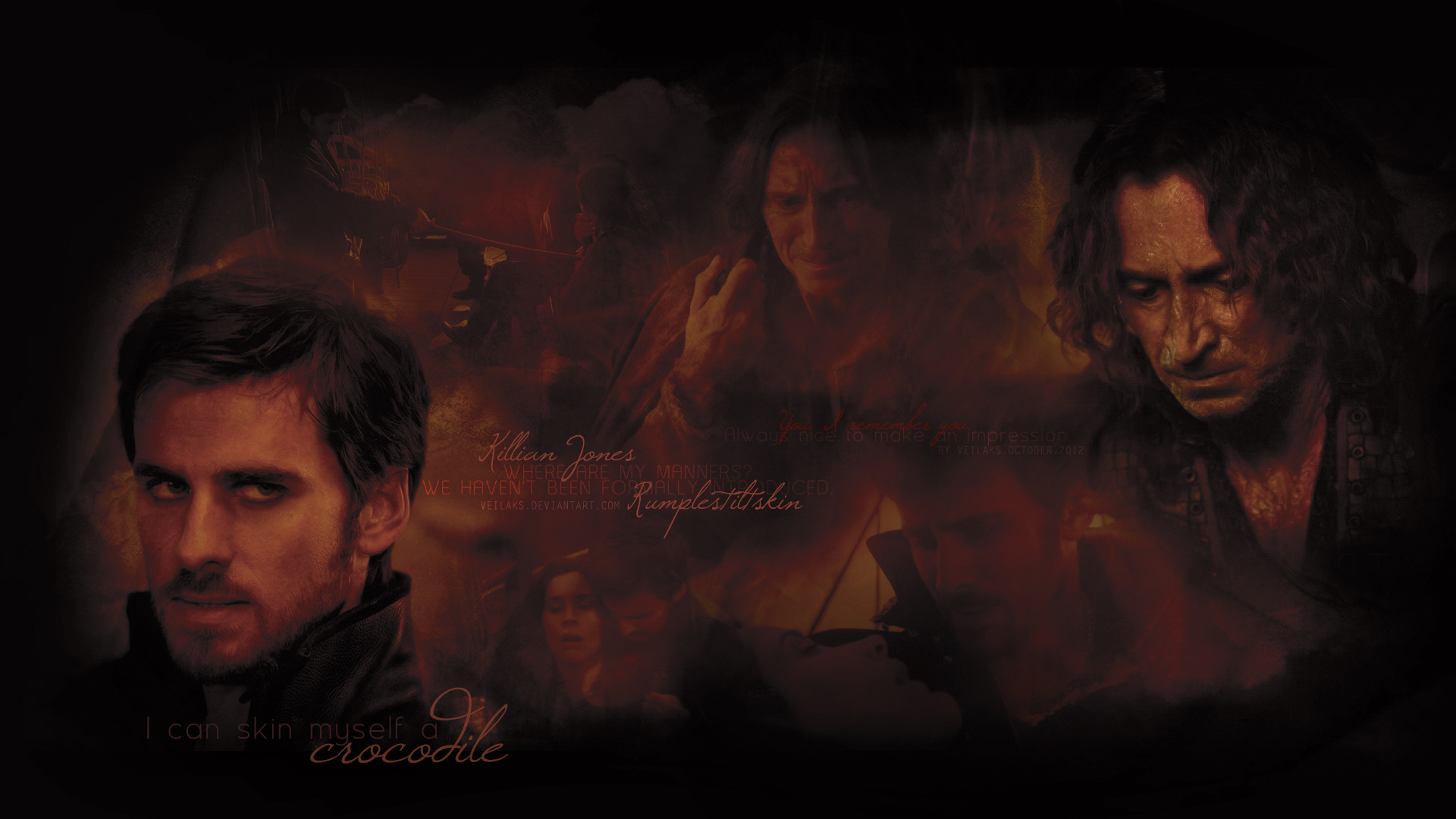 Captain Hook & Rumpelstiltskin