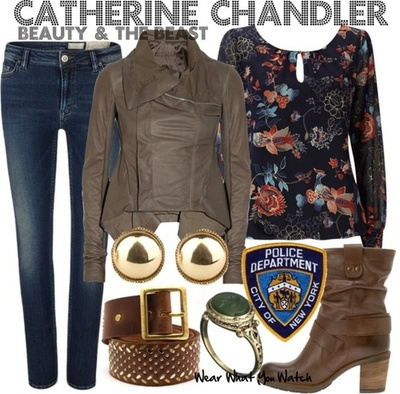 Catherine Chandler's Wardrobe