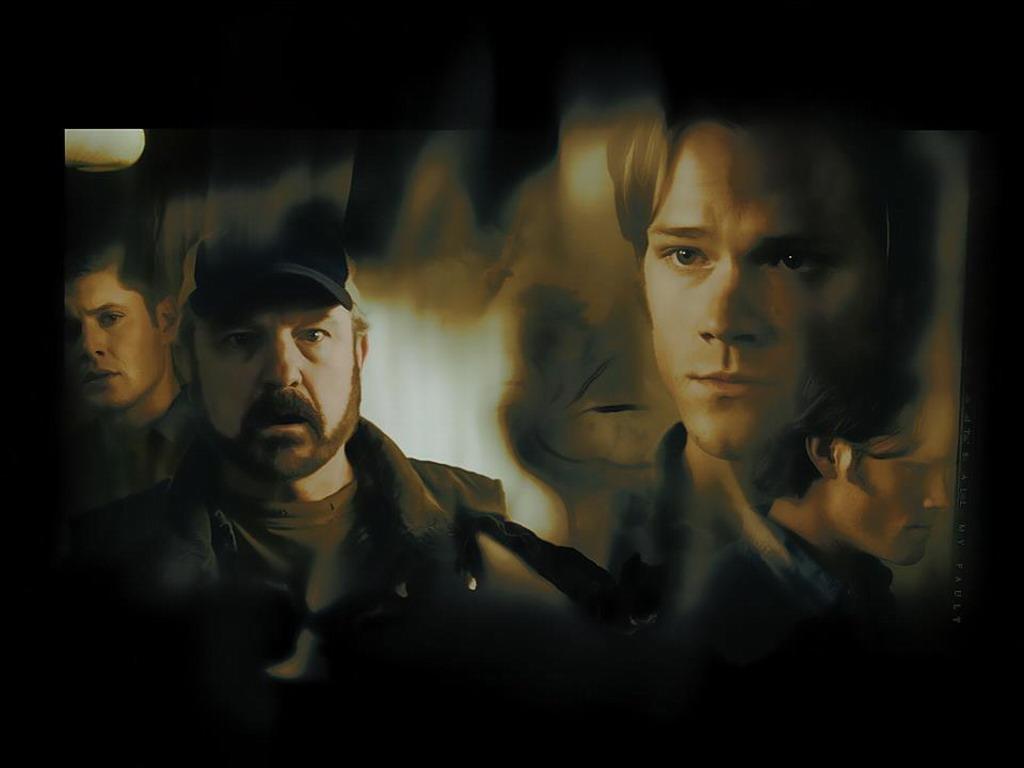 Dean Bobby Sam Supernatural Wallpaper 32530817 Fanpop