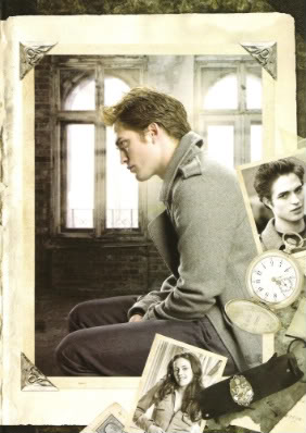 Edward Twilight promo pictures