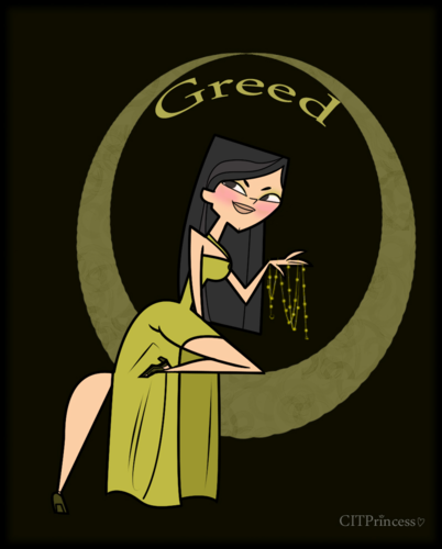 Heather: greed