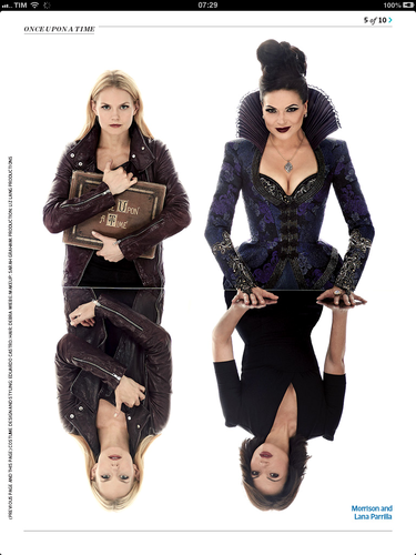 The Evil Queen & Emma