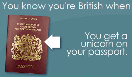 আপনি know your british when ...