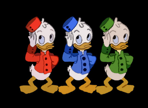 Bellhops Huey, Dewey and Louie