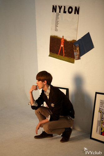 "EXO-K for ""The Ivy Club"" BTS"