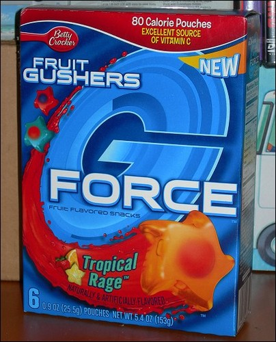 Gushers G-Force