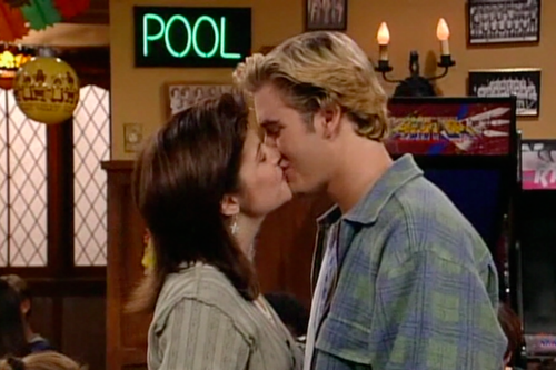 Kelly and Zack Morris