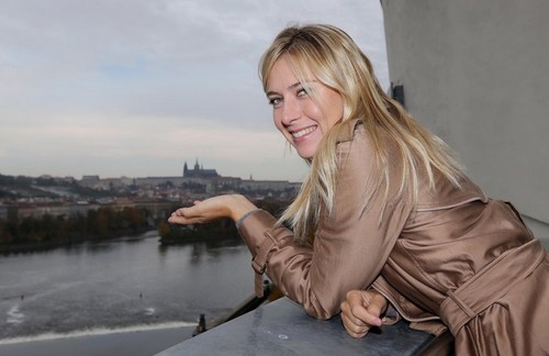 Prague istana, castle at your fingertips. Maria in Prague