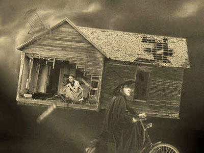 The Wizard of Oz....Tornado Rare Photo