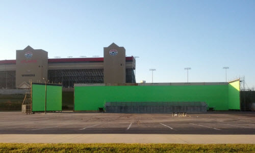 new pictures from the set at Atlanta Motor Speedway
