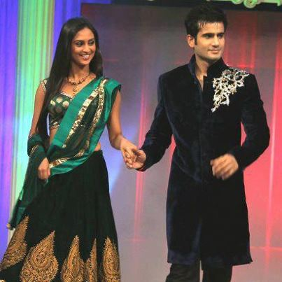 viren & jeevika on ramp