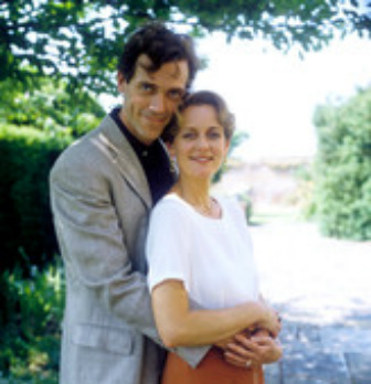 Hugh Laurie and Jessica Turner- 1993