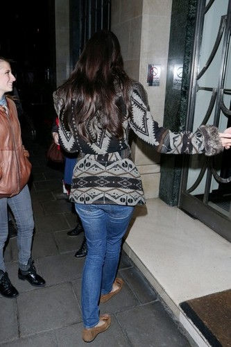 Lana Del Rey Out in London