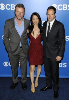 Lucy Liu with Aidan Quinn and Johnny Lee Miller