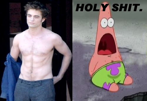 Patrick sees Edward Cullen
