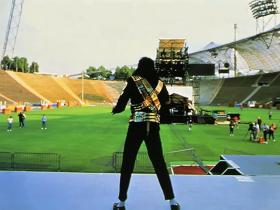 Rehearsal For 1993 Halftime Superbowl Performance