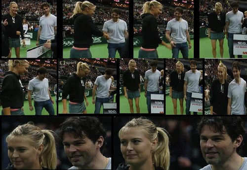 Sharapova and Jagr..