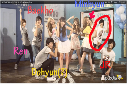 nu'est before debut with afterschool