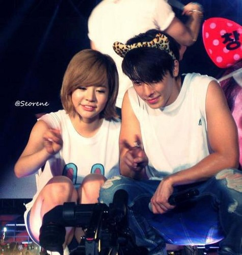 sunny and donghae
