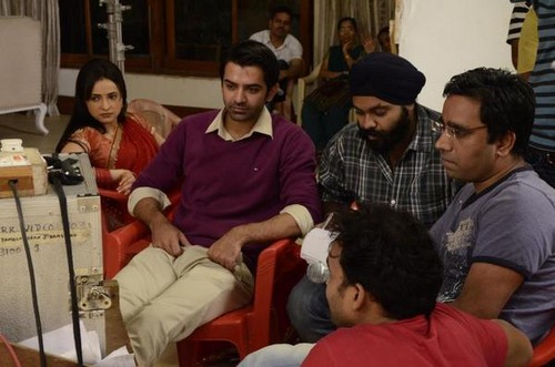with Lalit sir discussing script..