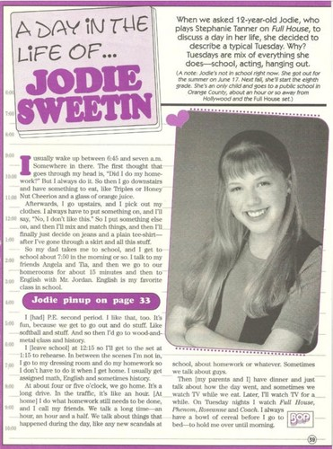 A día in the life of Jodie Sweetin