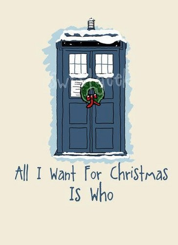All I want for Natale is...Who! :D