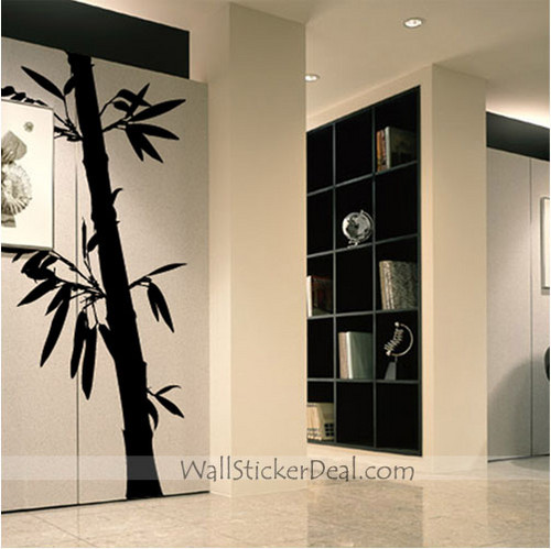 Bamboo Forest Wall Decals