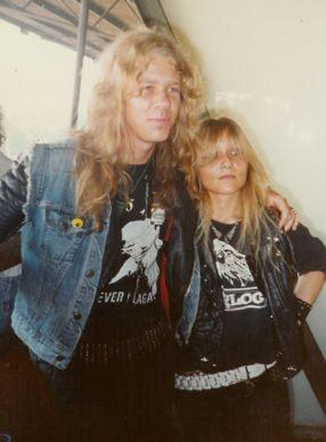 Doro with James Hetfield (Metallica)
