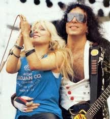 Doro with Paul Stanley (KISS)