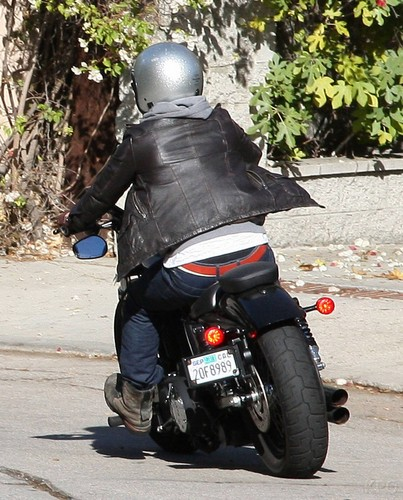 Josh cruising around on his motorcycle (19.11.2012) [HQ]