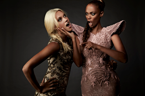 Laura James and Tyra Banks HQ photos