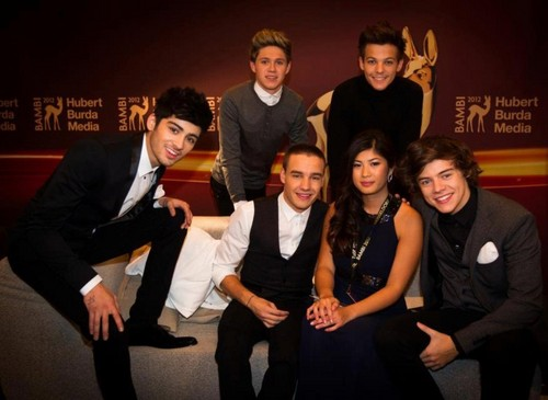 One Direction Bambi Awards Germany , 2012